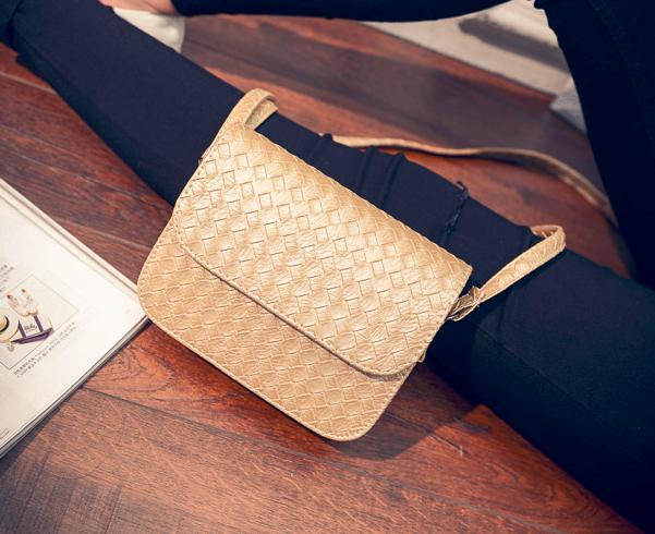 Женская мини сумочка Плетение