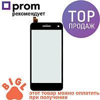 Дисплей для мобильного телефона Gigabyte GSmart Guru G1, черный, с тачскрином / Экран для Гигабайт Джисмарт