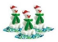 Кондитерское украшение «Снеговички», фото 1