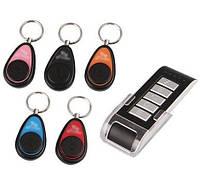 5 брелков и пульт ДУ для поиска ключей Super Key Finder 5