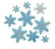 Набор кондитерского декора «Снежинки», фото 1