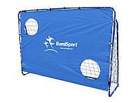 Футбольные ворота с экраном+м яч 25мм 213х152х90см. фирмы RomiSport
