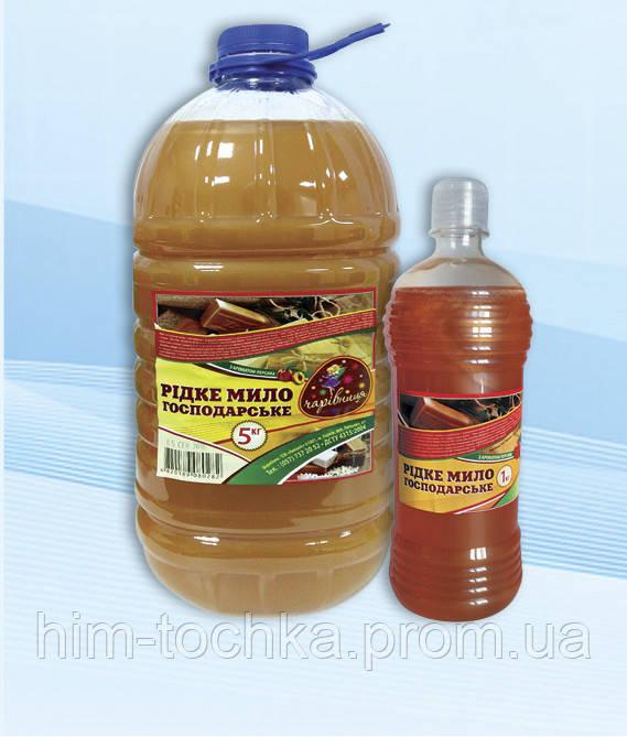 Жидкое хозяйственное мыло Чаривница 5 л