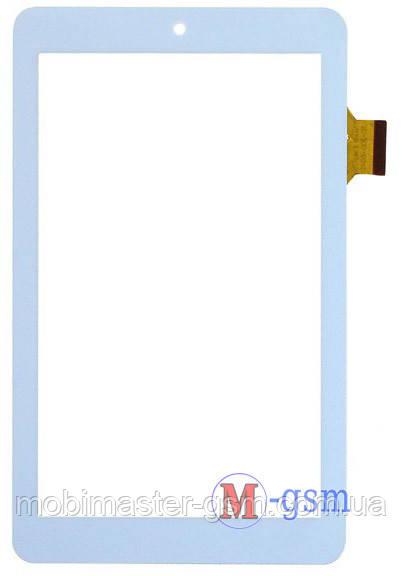 Тачскрин (сенсор) SENKATEL T7012, Assistant AP-708, Impad 0313 (p/n: TE-700-0045, HH070FPC-009B) бел