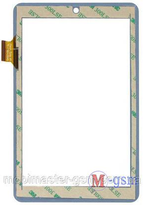 Тачскрин (сенсор) SENKATEL T7012, Assistant AP-708, Impad 0313 (p/n: TE-700-0045, HH070FPC-009B) бел, фото 2