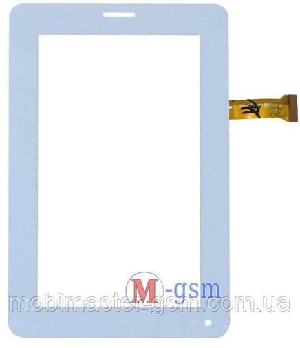 Тачскрин (сенсорный экран) (p/n: CS-CTP7032-A, CZY6384B01-FPC) белый