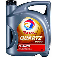Моторное масло Total QUARTZ 9000 5W-40 5W-40, 5л