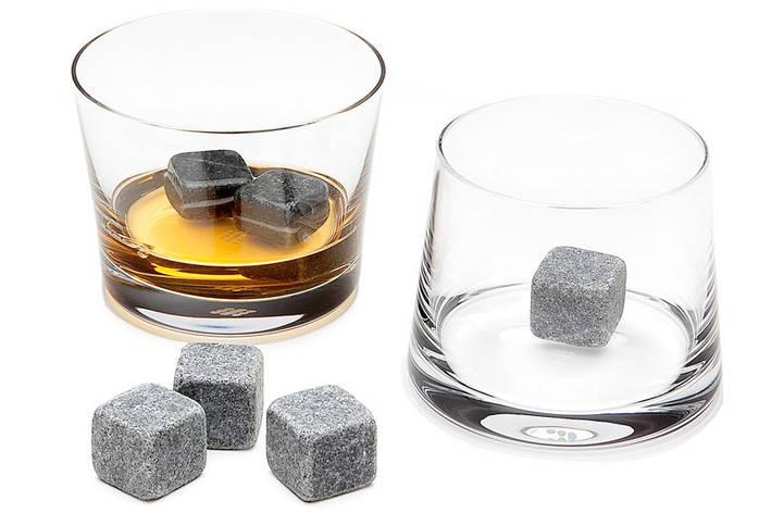 Камни Whiskey Stones-2 B, Камни для виски, набор камней для виски, кубики для виски, многоразовый лед, фото 2