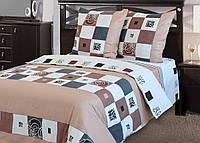 Полуторное постельное белье Бязь люкс Элит