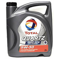 Моторное масло Total QUARTZ INEO ECS 5W-30 5W-30, 4л