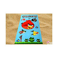 Пляжное детское полотенце Angry Birds-2(Злые Птички) 150*75