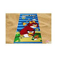 Пляжное детское полотенце Angry Birds-3 (Злые Птички) 150*75