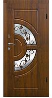 Двери VIP Украина АРМА Т-7 86 см левая Винтаж ковка дуб золотой (венорит) 100 % вата (304)