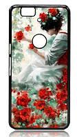 Печать фото на чехле для телефона Huawei Nexus 6P