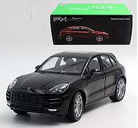 Коллекционная машинка Porsche Macan Turbo 1:24