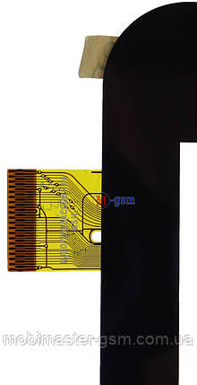 """Тачскрин (сенсорный экран) 7"""" Cube U51GT (p/n: NJG070123ACG0B-V3, NJG070123ACCOB-V3) черный, фото 2"""