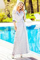 Платье Хилтон белое