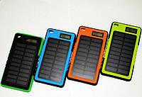 Внешний аккумулятор Solar Power Bank 20000 mAh на солнечной батарее