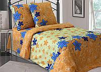Двуспальное постельное белье Бязь люкс Апрель 100% хлопок