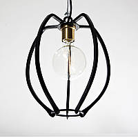 Светильник подвесной Loft Steampunk [ Frame -2 ] Black / White , фото 1