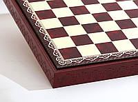 "Шахматный бокс ""Красный"" (биокожа)"