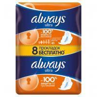 Гігієнічні прокладки Always Ultra Normal Plus 40 шт (4015400095088)