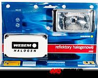 Фары дальнего света 138х78х60 мм Wesem HM1.08131 галогенные белые 2 шт