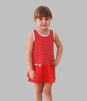 Детское летнее платье от 2 до 7 лет