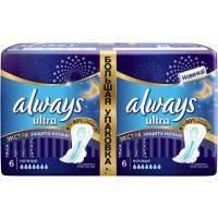Гігієнічні прокладки Always Ultra Night Deo 12 шт (4015400612377)