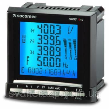 Анализатор качества электроэнергии, контроль показателей качества электроэнергии DIRIS A60 - СВ Альтера Запорожье в Запорожье