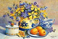 Картина по номерам Абрикосовый натюрморт 40*50 см 2031