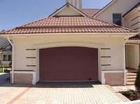 Секционные гаражные ворота Дорхан