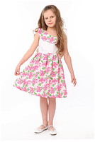 Нарядное платье для девочки в цветочек  Луиза