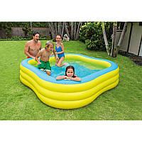 Детский надувной бассейн Акварена 57495 intex