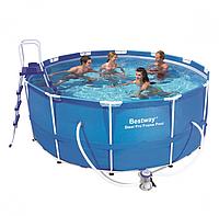 Каркасный бассейн фирмы Бествей 3.66 на 1.22
