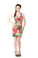 Платье коктельное с открытой спиной Tamer