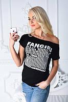 Женская свободная футболка с картинкой