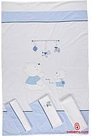 344 Постель 3 предмета Bebetto Bears blue