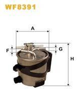Фильтр топливный (дизель) WIX WF8391 Euro III 8200619849; 8200619855