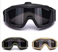 Тактические защитные очки маска REVISION DESERT LOCUS