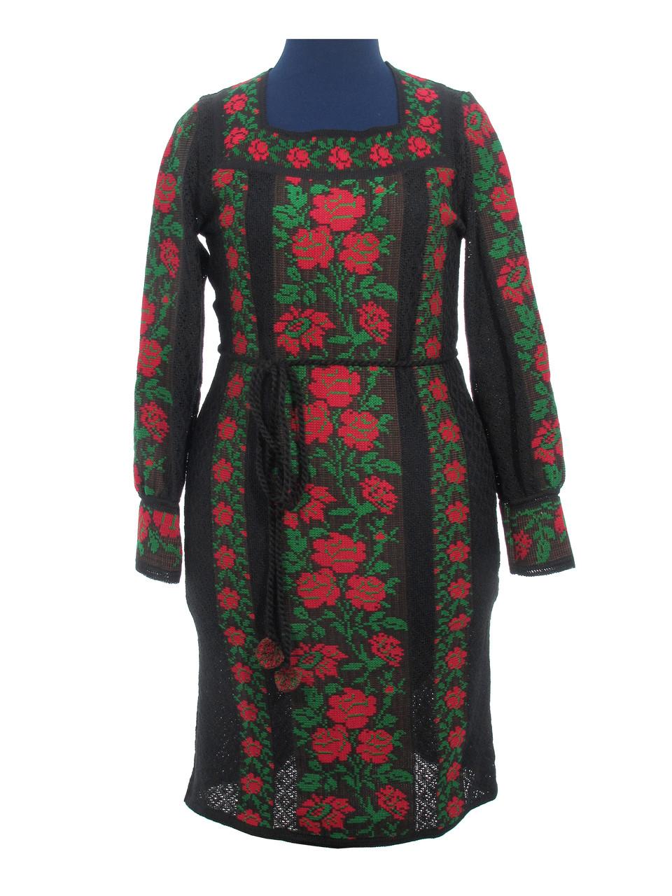 Вязаное платье (х/б) 0513