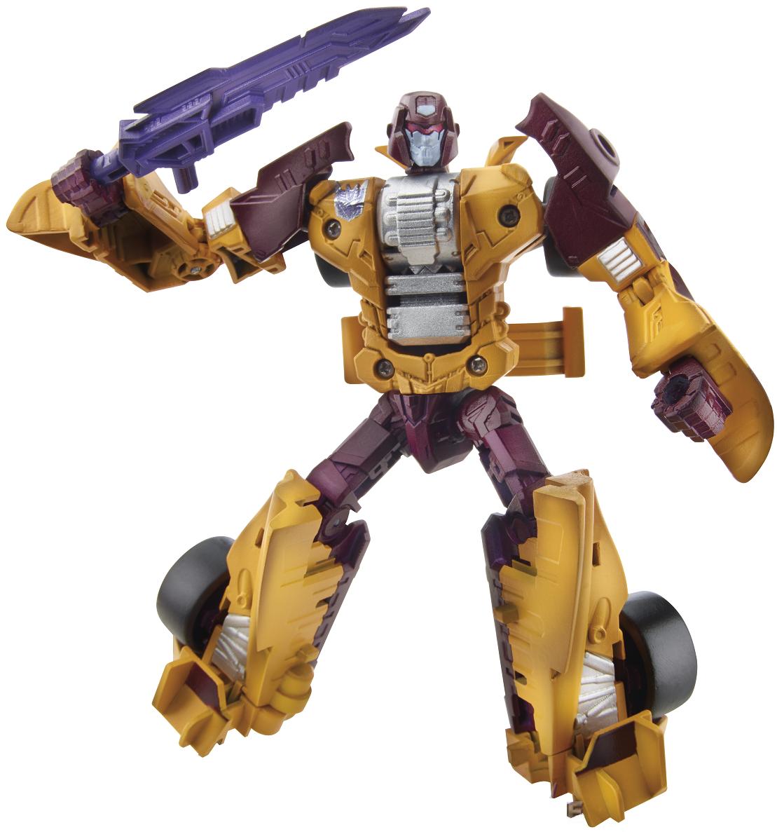 Transformers - Трансформер  2 в1  Combiner  Wars Deluxe Class - Дрэгстрип серияTransformers Generations