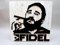 """Панно """"Fidel"""" техника стринг-арт"""