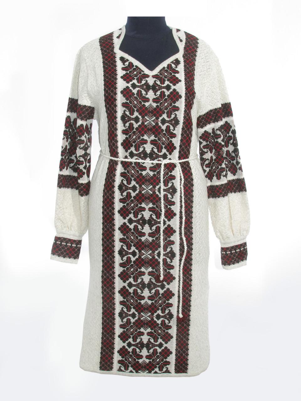Вязаное платье 0524