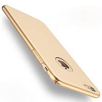 GOLD Софт тач пластик чехлы для iPhone 7 8