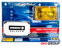 Фары дальнего света 138х78х60 мм Wesem HM1.08331 галогенные желтые 2 шт