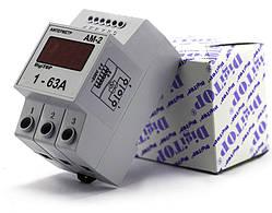 Амперметр Ам-2 (встроенный ТТ) DIN DigiTOP