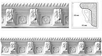 Потолочный карниз с орнаментом. Декоративная гипсовая лепнина/ Гіпсова ліпнина