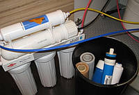 Обслуживание бытовых фильтров для воды в Харькове