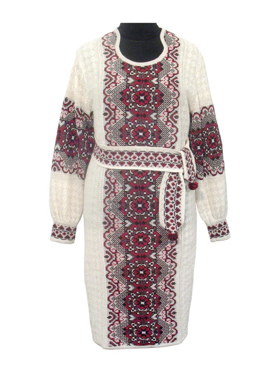 Вязаное платье 0529
